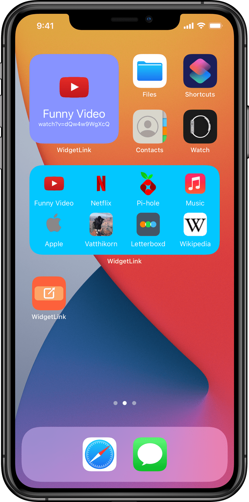 iPhone 11 Pro Max 0 Widgets framed